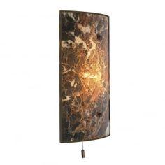 Savoy MGW8 Dark Marble Wall Light