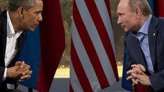 Waar trekt Obama de rode lijn voor Poetin? - Onrust in Oekraïne - De Morgen