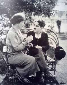 Helen Keller was born on this date in 1880. She meets with Charlie Chaplin in 1919.