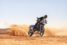 Yamaha Tenere 700 is finally giving seriously dirt-oriented adventure riders what they've been asking for long earlier. Motorcycle Bike, Motorcycle Touring, Yamaha Motor, Monster Trucks, Adventure, Long Beach, Bicycles, News, Link