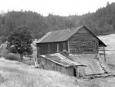 ghost towns in oregon - Google Search  One of the few buildings still standing in 1954 when Ben Maxwell visited the ghost town of Waldo