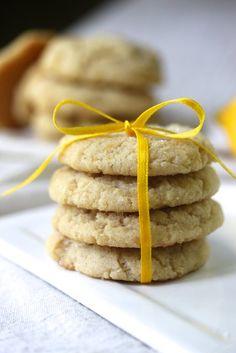 Lemon olive oil cookies {Gluten-Free, Vegan}