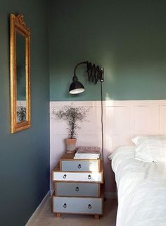 10 Amazing Two-Tone Walls: When One Color Just Won't Do