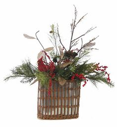 Jeffrey Alans Christmas Floral Designs 2013 Collection Handmade Wreaths, Swags, and Arrangements Christmas Door, Christmas Wreaths, Christmas Decorations, Xmas, Christmas Arrangements, Flower Arrangements, Centerpiece Ideas, Centerpieces, Christmas Floral Designs