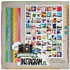 Kim Watson, great use of lots of pictures! Perfect for my picture a day layouts!
