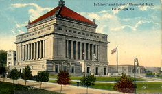 Today in Allegheny County History - On Oct. 2, 1908, the cornerstone was laid for Soldiers & Sailors Memorial Hall & Museum in Oakland. The Grand Army of the Republic conceived the memorial during the 1890s. It was originally built to recognize the sacrifice, valor & patriotism of Civil War veterans from Allegheny County. Today, it honors those who have served in U.S. military endeavors throughout our country's history.