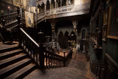 Film: Crimson Peak (2015) Production Designer: Thomas Sanders Set Decorators: Jeffrey Melvin & Shane Vieau