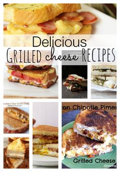 10 DELICIOUS GRILLED CHEESE SANDWICH RECIPES