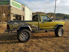 Jeep Gear, Jeep Wj, Jeep Truck, Cool Jeeps, Cool Trucks, Comanche Jeep, Badass Jeep, Jeep Mods, Custom Jeep