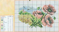 prima zi: diagrame goblen - lunile anului Cross Stitch House, Cross Stitch Charts, Cross Stitch Designs, Cross Stitch Patterns, Cross Stitching, Cross Stitch Embroidery, Cross Stitch Landscape, Cross Stitch Flowers, Pattern Fashion