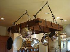 Custom Built Pot / Pan Storage Racks from by KiserKreationz, $400.00
