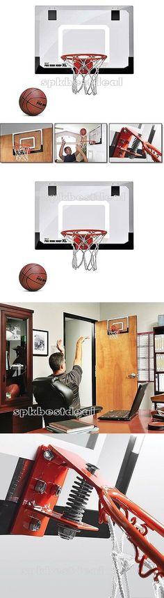 Rims and Nets 158962: Polycarbonate Backboard Rim Wall Mount Basketball Hoop Goal Net Sport Fun Indoor -> BUY IT NOW ONLY: $70.97 on eBay!