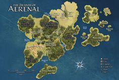 24 Best Eberron Maps images