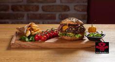 Jalapeno burger s pálivými papričkami a modrým sýrem