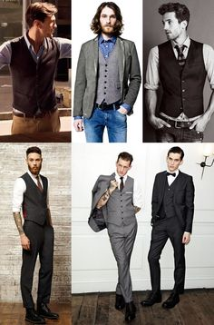 Men's Waistcoats Lookbook