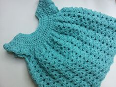 Poochie Baby Crochet Designs: Pinafore Dress Pattern