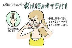 原因は口元にあり!老け顔にオサラバする簡単リンパマッサージ