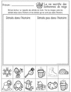 by Maternelle avec Mme Andrea Teacher Pay Teachers, Teacher Resources, Close Reading, Teaching French Immersion, Grade 1 Reading, Reading Comprehension Strategies, French Education, French Language Learning, Too Cool For School
