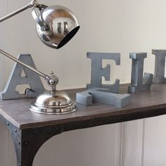 #home #homedecor #décoration #déco #interiors #industrial #industrie #typography