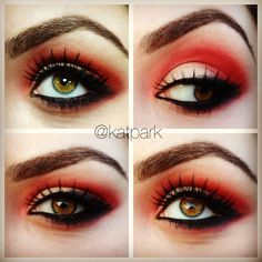 little red riding hood makeup - Buscar con Google