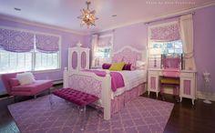 Little Girls Bedroom 2 - Children's - Bedroom - Images by Paula Caponetti Designs LLC | Wayfair