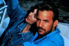 Kevin Costner and Madeleine Stowe, Revenge 1990