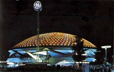 ge pavilion/64 ny worlds fair Disney, future EPCOT center.