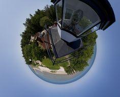 """""""40 Mile Point Lighthouse 360°"""" by Jeremy Lounds, via 500px."""