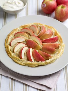 Nothing says summer like a sweet crispy Pink Lady Apple Galette  http://pinkladyapples.co.uk/kitchen/recipes/desserts/individual-pink-lady-apple-galettes-with-vanilla-chantilly