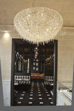 Iceberg crystal chandelier #Manooi #Chandelier #CrystalChandelier #Design #Lighting #Iceberg #luxury #interior