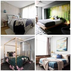 To celebrate the start of The Block next Sunday we're having a Poll a Day to see what YOU think are the best ever Block rooms! Here at The Block Shop we've picked our Top 4 and now we want you to tell us which is your favourite/most memorable (or tell us if we've missed one!) First up... Guest Bedrooms! Top left - @deanneanddarrenjolly on The Blocktagon Top right - @becandgeorge on Sky High Bottom right - @michaelandcarlene on Glasshouse Bottom left - @juliaandsasha on The Block 2016…