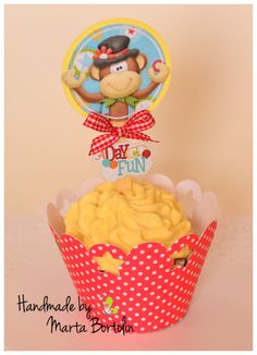 Items similar to Birthday Circus Cupcake Wrapper and Topper (Set of , Personalized Birthday on Etsy Circus Cupcakes, Invitation Cards, Invitations, Paper Cake, Cupcake Wrappers, Favor Boxes, Favors, Handmade Gifts, Birthday