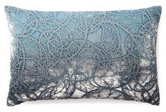 Motif 12x18 Velvet Pillow, Dusk | One Kings Lane