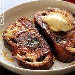Blueberry Vanilla Bread French Toast