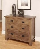 Brooklyn 2 over 2 reclaimed oak chest of drawers Quality Furniture, Online Furniture, Walnut Furniture, Dresser As Nightstand, Chest Of Drawers, Bedroom Furniture, Brooklyn, Table, Collections