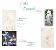 """""""Mako Mermaids - Orignal Character"""" by magicalpuffin on Polyvore featuring art"""