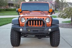 FS: 2011 Mango Tango Jeep Wrangler Rubicon Unlimited- AEV Modded - American Expedition Vehicles - Product Forums