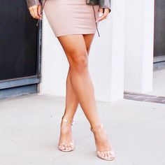 """The wait is over  """"Maria Transparent Heels""""  RESTOCKED  Shop now while supplies last"""