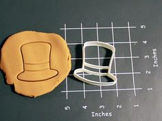 Top hat cookie biscuit cutter, perfect for a steampunk themed party, by CookieParlor on Etsy, $5.99