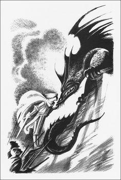 English folk tales, Illustrator Nika Goltz.