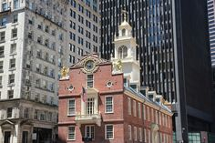 The Old South Meeting House in Boston-Because of all the people who have made New England their home over the years, you can't help but bump into evidence of the region's incredible history everywhere you look. | 27 Reasons You Should Definitely Visit New England