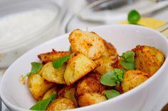 Potatoes with pepper seasonings