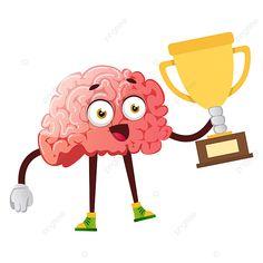 Brain Vector, Human Vector, Cartoon Brain, Cartoon Sun, Free Vector Graphics, Vector File, Vector Art, Rainbow Cloud