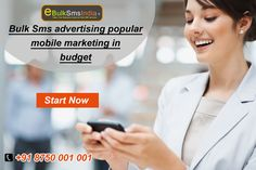 Bulk Sms advertising popular  mobile marketing in  budget. Know more visit : http://www.ebulksmsindia.in/