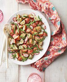 Tangy Potato-Green Bean Salad Recipe