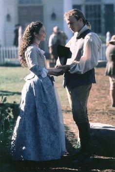 Lisa Brenner (Anne Howard) & Heath Ledger (Gabriel Martin) - The Patriot (2000)