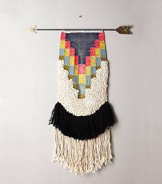 All Roads Handwoven Arrow Tapestry, Medium