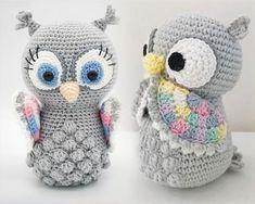 Free Crochet Pattern: Pink Owl Amigurumi Doll   Amigurumi doll ...   188x235