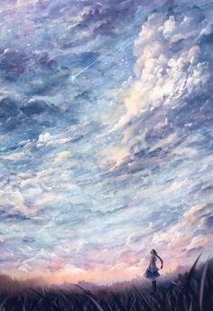 Pin by trie wahyuni on anime arte paisajes, paisajes anime, Art Manga, Art Anime, Anime Kunst, Manga Anime, Sf Wallpaper, Mobile Wallpaper, Image Manga, Fantasy Landscape, Anime Scenery