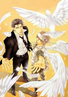 You're my loveprize in Viewfinder ファインダーの標的 Manga Art, Manga Anime, Anime Art, Viewfinder Manga, Ai No Kusabi, Cute Anime Guys, Anime Boys, Shounen Ai, Manga Illustration